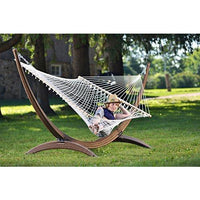 Vivere Cot21 Cotton Rope Double Hammock