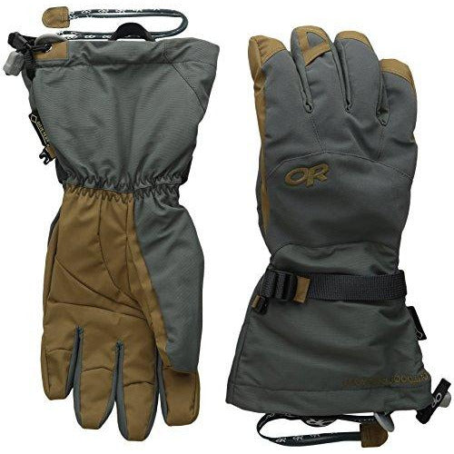 Outdoor Research Men's Alti Gloves, Charcoal/Natural, Large