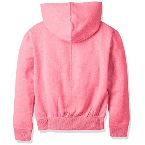 Under Armour Girls Threadborne Fleece Hoodie,Penta Pink /Silver, Youth Small