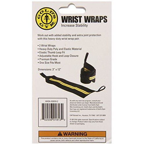 Gold's Gym Wrist Wraps