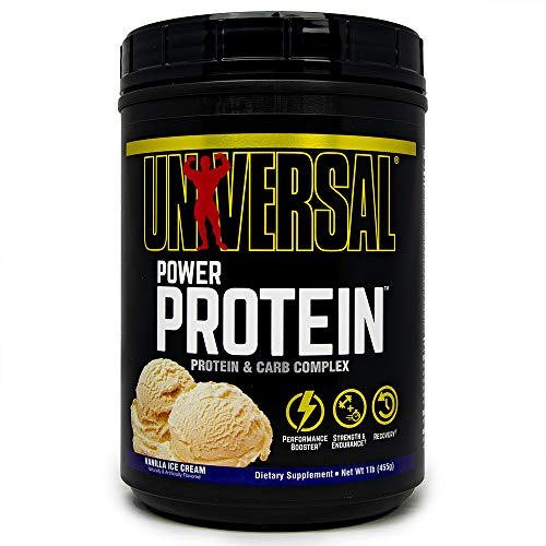 Universal Nutrition Power Protein, Vanilla, 1-Pounds