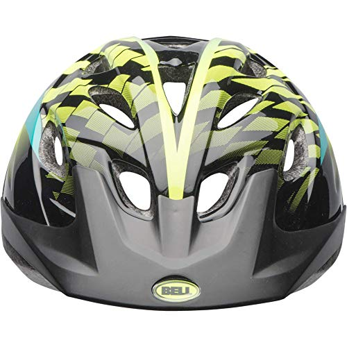Bell Axel Youth Bike Helmet, Emerald Hyperactive