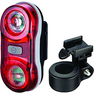 Altair Beacon Dual Beam 1/2+1/2W Light Rear, Red