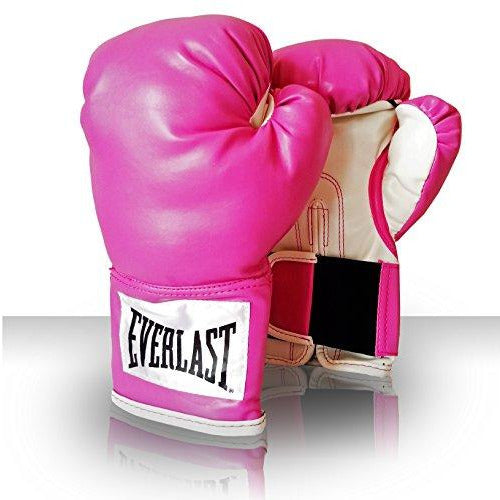 Everlast Women's Advanced Training Boxing Gloves, 12 oz, Pink