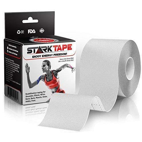Starktape Kinesiology Athletic Recovery Tape. Best Knee Taping Elastic Therapeutic Tape For Injuries