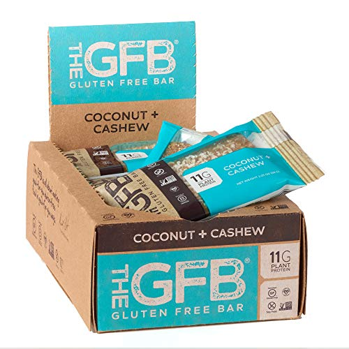 The Gfb Protein Bars, Coconut Cashew Crunch, 2.05 Ounce (Pack Of 12), Gluten Free, Non Gmo