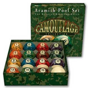 Aramith Camouflage Collection Billiard Ball Set
