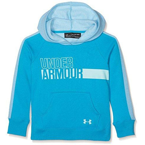Under Armour Girls Favorite Fleece Hoodie, Blue Shift, YL