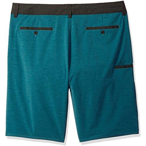 Kavu Dunk Tank Athletic Shorts, Teal Heather, Size 36