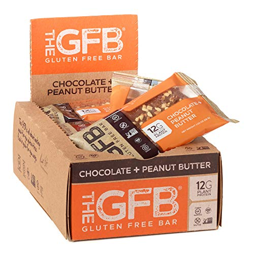 The Gfb Protein Bars, Chocolate Peanut Butter, 2.05 Ounce (Pack Of 12), Gluten Free, Non Gmo