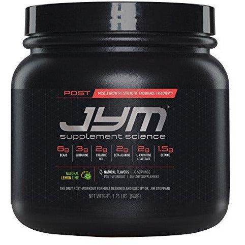 Post Jym Active Matrix - Post-Workout With Bcaa'S, Glutamine, Creatine Hcl, Beta-Alanine, And More | Jym Supplement Science | Natu