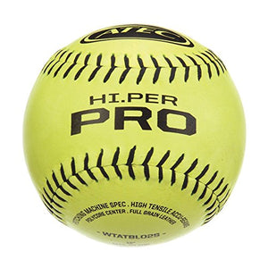 Atec Hi Per Pro Softball (Pack Of 12), Optic Yellow