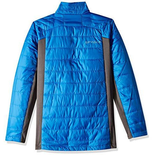 Spyder Boys' Glissade Insulator Jacket, Turkish Sea/Polar/Fresh, X-Large