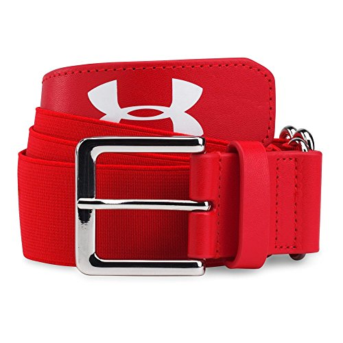 Under Armour Men'S Baseball Belt, Red/Red, One Size
