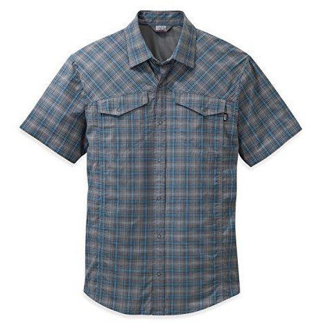 Outdoor Research Men's Pagosa Shirt, Pewter, Small