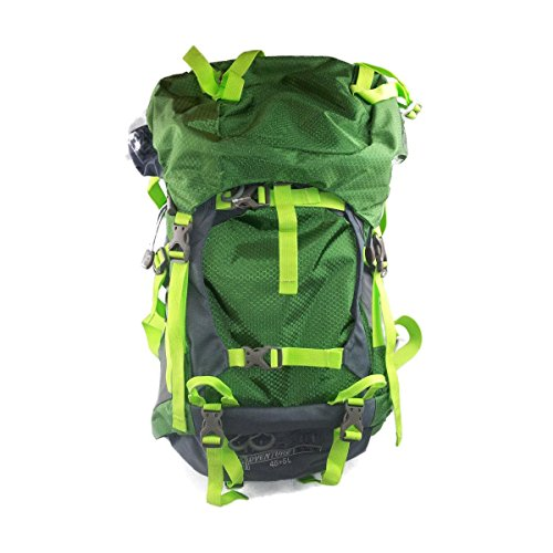 Mil-Spec Adventure Gear Plus Msa15-0167009000 Hiking Backpack, Green, 45+5L