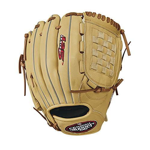 "Louisville Slugger 125 Series Baseball Gloves, Right Hand, 11.5"", Cream"