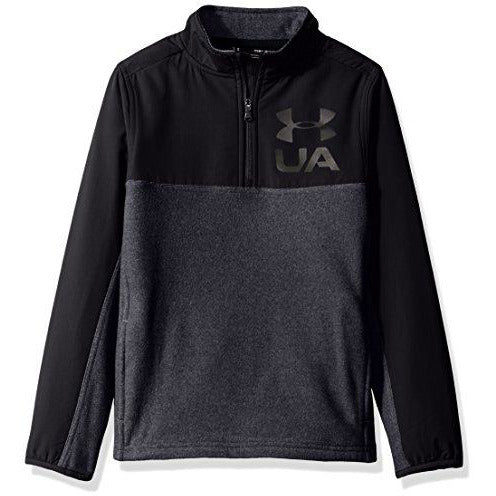 Under Armour Boys' Phenom ¼ Zip,Black (001)/Black, Youth X-Large