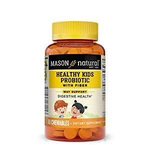 Mason Natural Healthy Kids Probiotic Tablets, 60 Count
