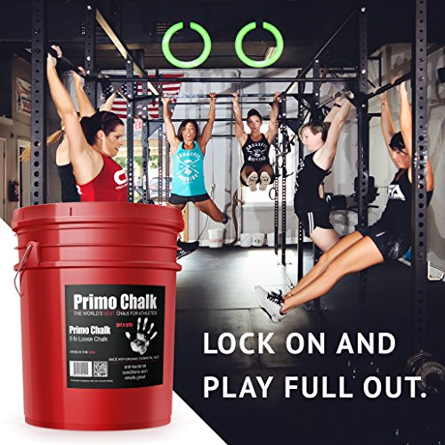 Primo Chalk Stop ruining Your Hands, The Way Climbing and Lifting Chalk Should be - 5lb Bucket. Switch to Primo Gym Chalk and Experience The Difference for Yourself.
