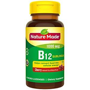 Nature Made Vitamin B-12 1000 Mcg Sublingual