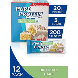 Pure Protein Bars, High Protein, Nutritious Snacks - 12 Pack