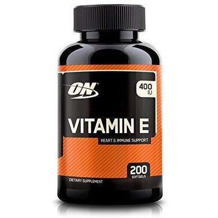 Optimum Nutrition Vitamin E Soft Gels, 400 Iu, 200 Count