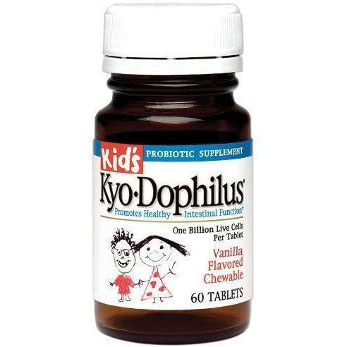Kyolic Kid'S Kyo-Dophilus Probiotic Supplement (60-Tablets)