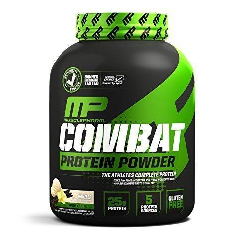 Musclepharm Combat Protein Powder - 4 Pound, 54 Servings