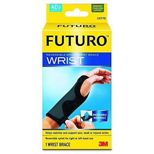 Futuro Adjustable, Reversible, Moderate Stabilizing Support, Splint Wrist Brace