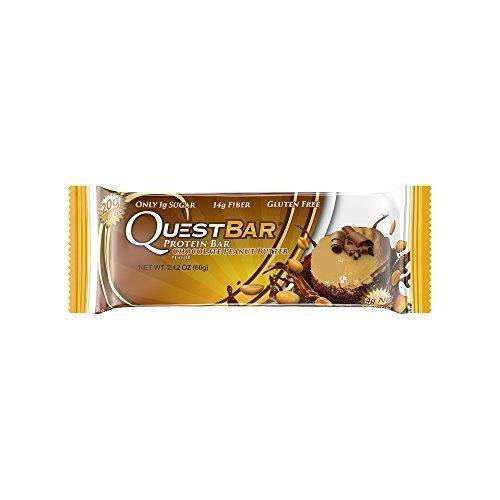 Quest Nutrition Protein Bar, Chocolate Peanut Butter - 2.1 Oz Bar / 12 Count