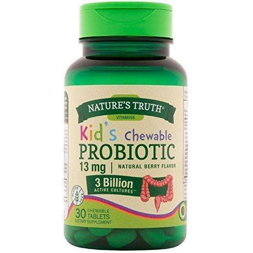 Nature'S Truth Probiotic Kids Chewable 30 Count