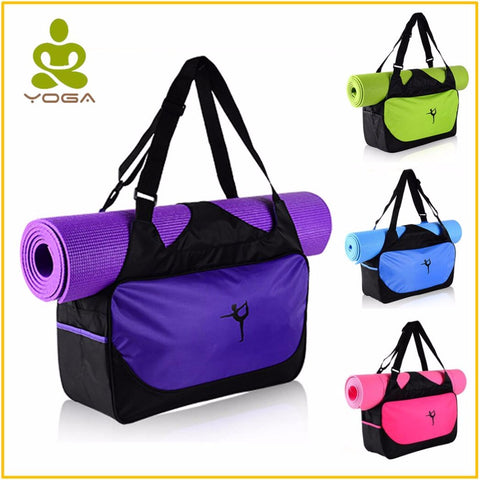 Gym Bag with integrated Yoga Mat Compartment