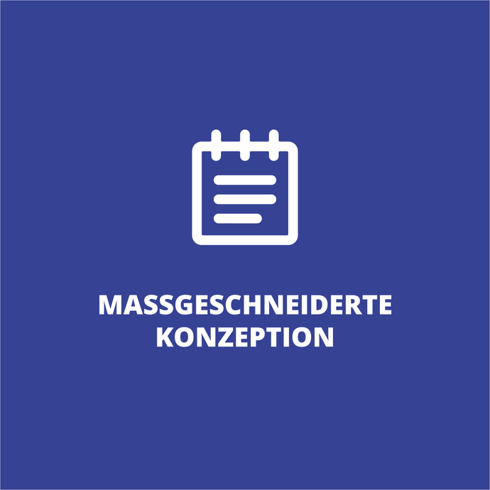 Maßgeschneiderte Konzeption - Sales Inspiration Shop