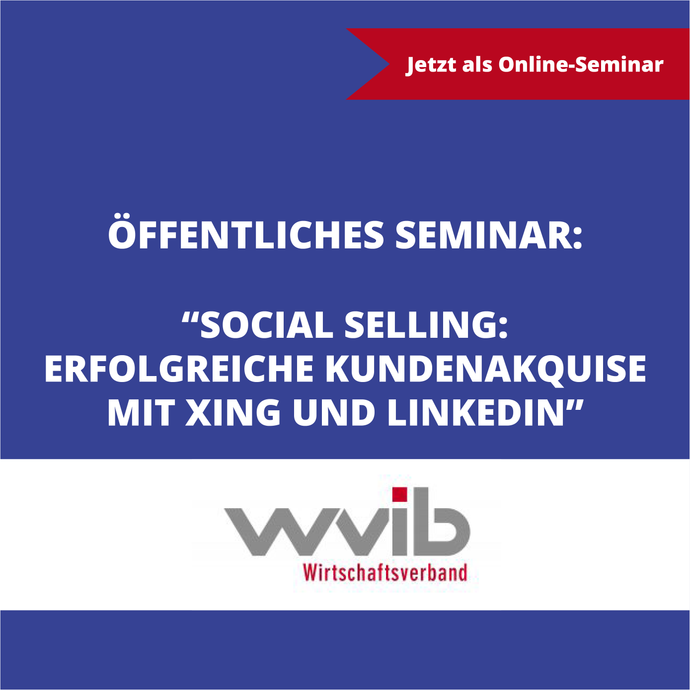 Social Selling – erfolgreiche Kundenakquise mit Xing und LinkedIn - Sales Inspiration Shop