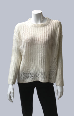 Mohair look alike Jumper - Ecru