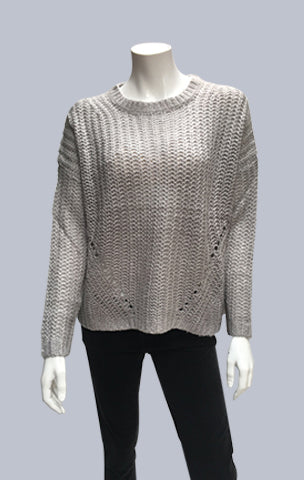 Mohair look alike Jumper - Light Grey