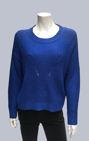 Box Jumper - Royal Blue