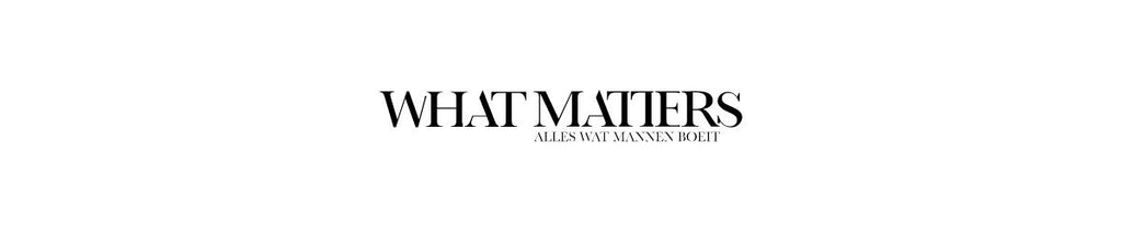 Dutch: Interview 'What Matters' - Wolf Clothing Brand