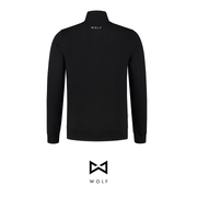 WOLF Varsity Jacket (black) - Wolf Clothing Brand