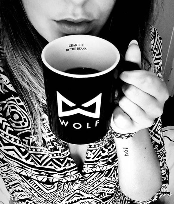 Wolf Coffee Mugs-Wolf Clothing Brand