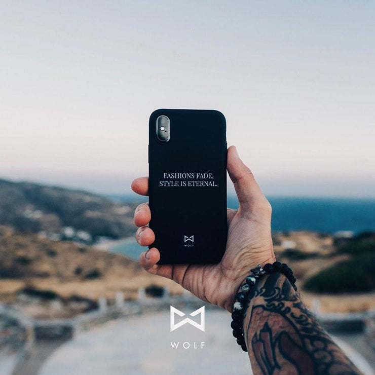 WOLF Iphone Cover-Wolf Clothing Brand