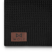 WOLF Scarf (black)-Wolf Clothing Brand