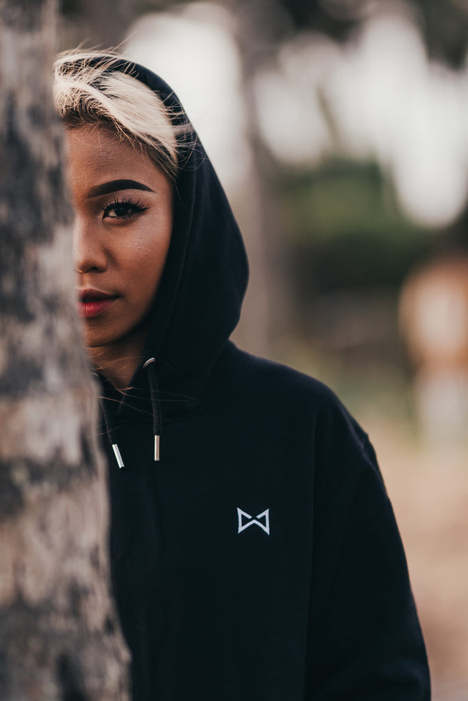 WOLF Hoodie Classic (black) - Wolf Clothing Brand