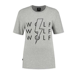 Lighting Bolt (grey)-Wolf Clothing Brand
