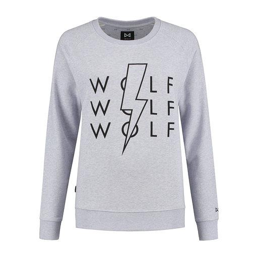 WOLF Lighting Women's Sweater (heather lila) - Wolf Clothing Brand
