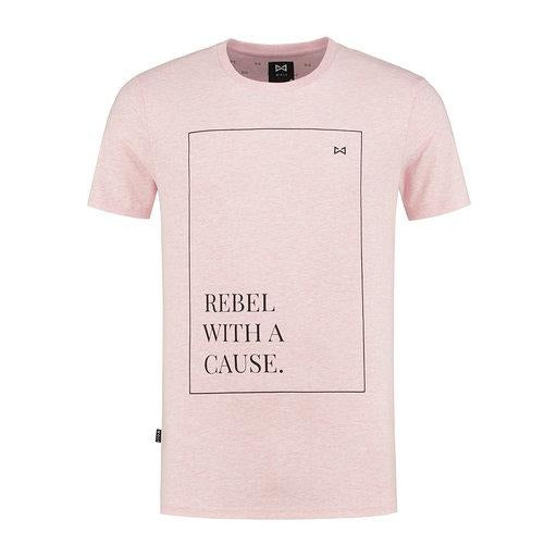WOLF Rebel T-shirt (cool pink) - Wolf Clothing Brand