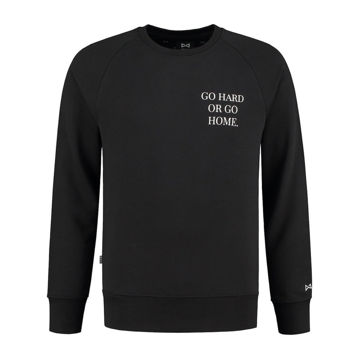 WOLF Go Hard Sweater (black) - Wolf Clothing Brand