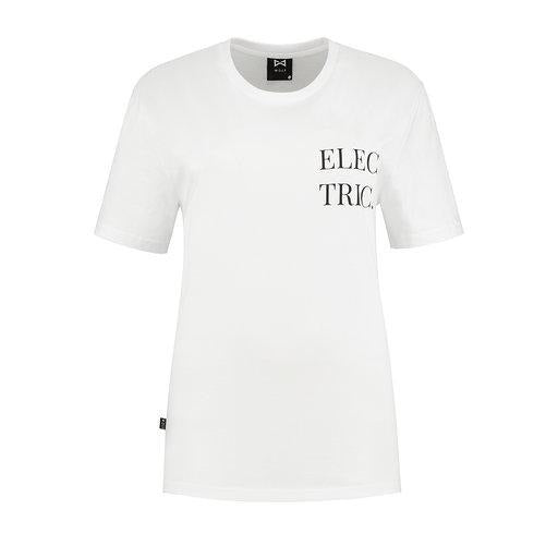 WOLF Electric T-shirt (white) - Wolf Clothing Brand