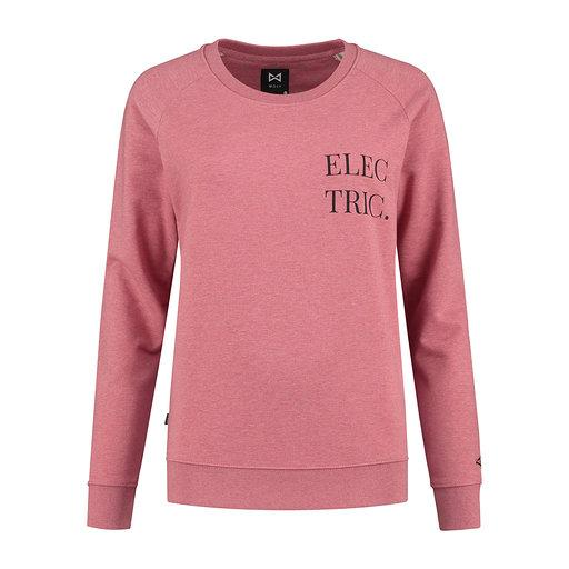 WOLF Electric Sweater (cranberry pink) - Wolf Clothing Brand